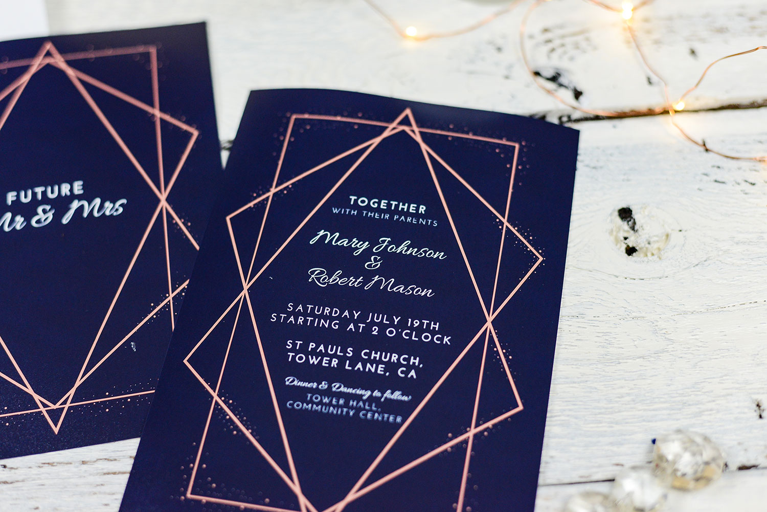 The power of printed invites