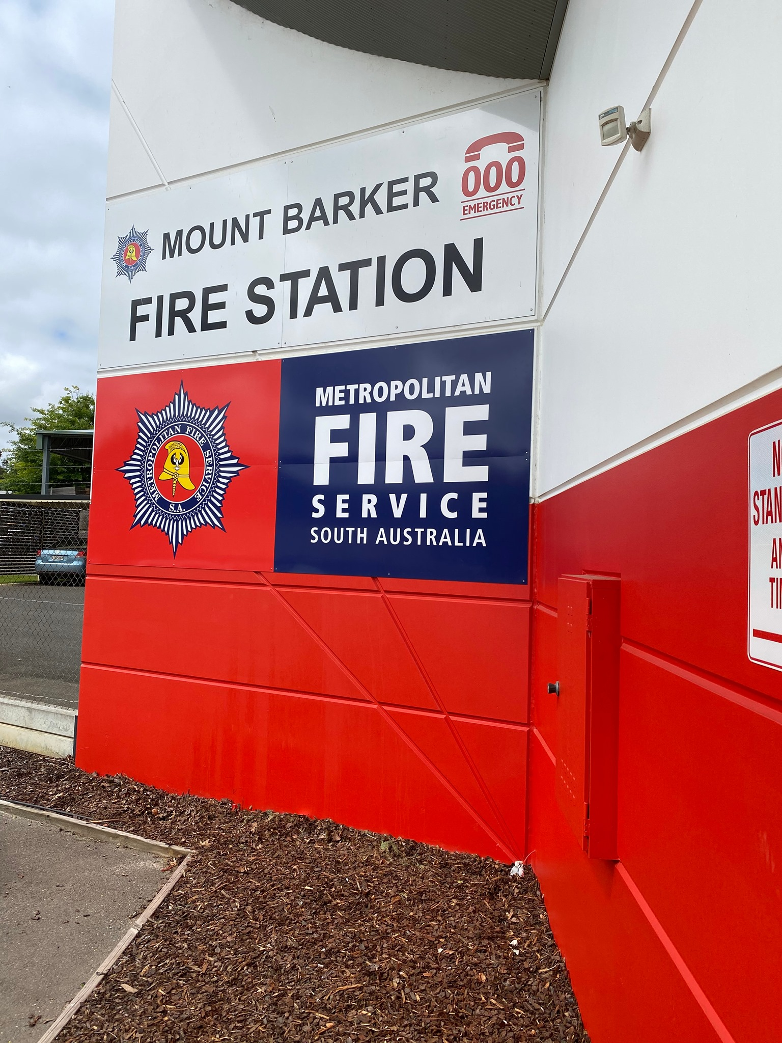Metropolitan Fire Service Station Signage
